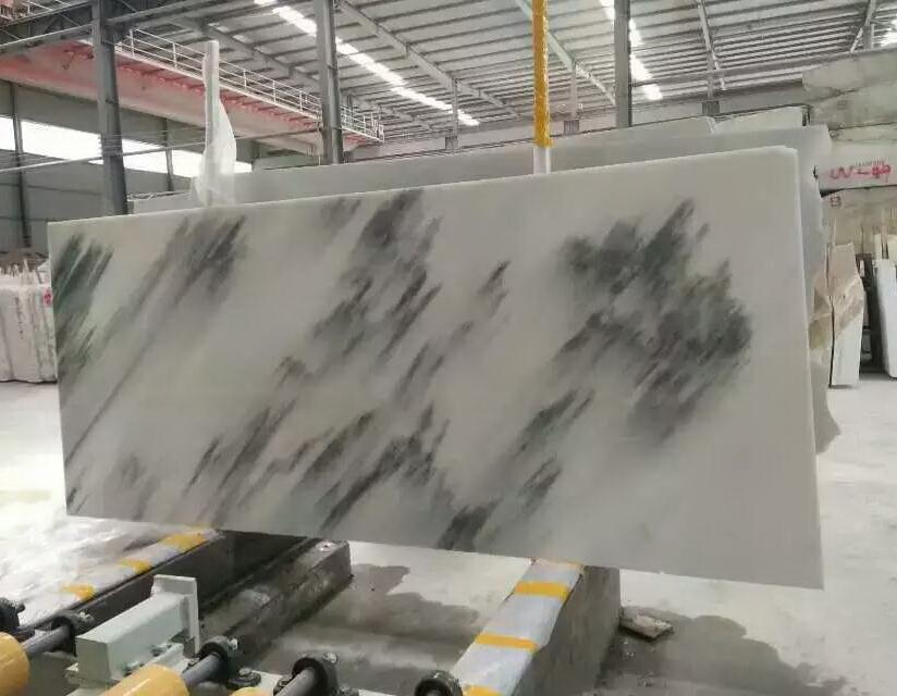 四川汉白玉板材-汉白玉青花板