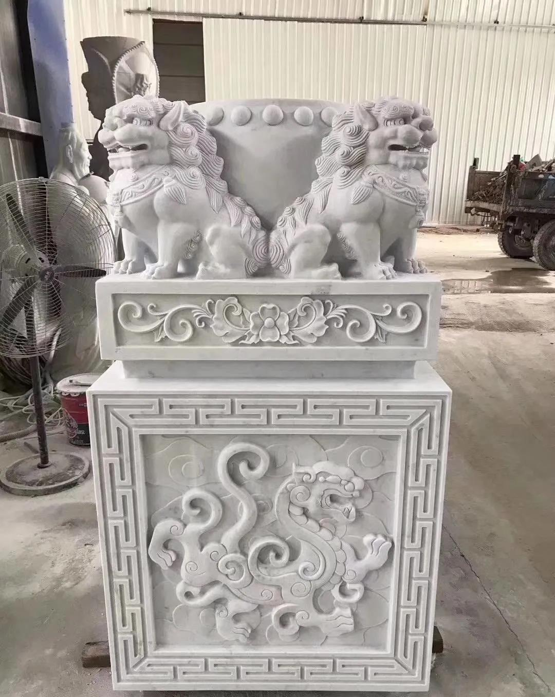 新时代的古典艺术--汉白玉雕刻