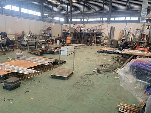 成都不锈钢板材加工施工现场
