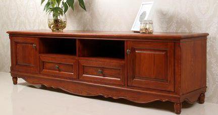 電視柜定制廠家手把手教你保養實木電視柜