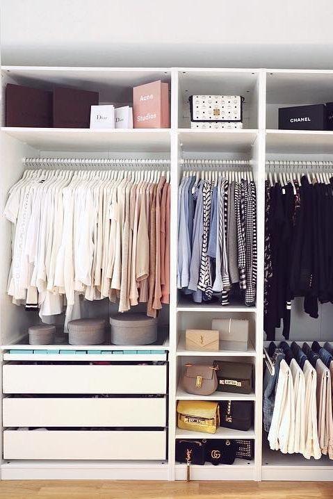 我們的廣元衣柜定制需注意5大要點,衣柜好不好用,看內部空間布局