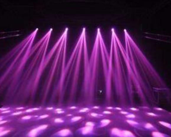 贵州舞台设备搭建公司分享:如何正确使用光束灯?