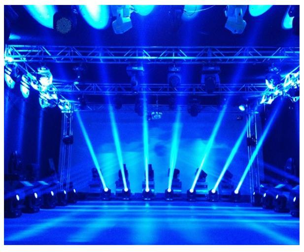 舞台灯光常用灯位 多图详解各个灯位含义