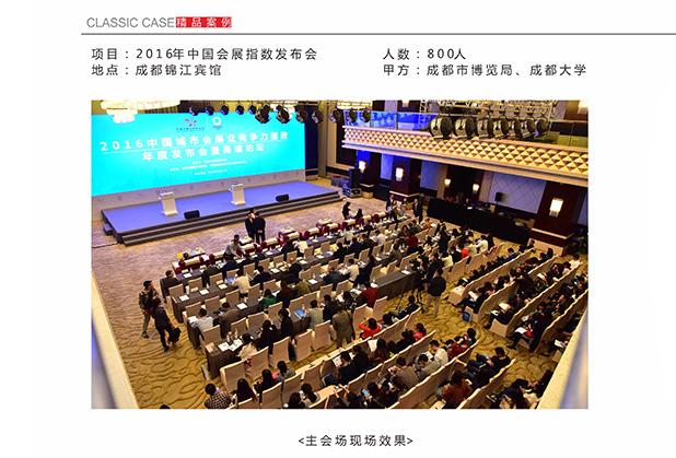 2016年中国会展指数发布会(二)