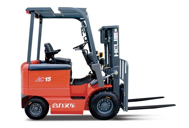 南充电动叉车-H系列 1-1.5吨窄车身蓄电池平衡重式叉车