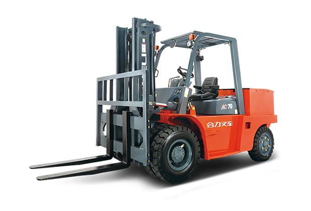 南充电动叉车出租-H系列 6-7吨蓄电池平衡重式叉车