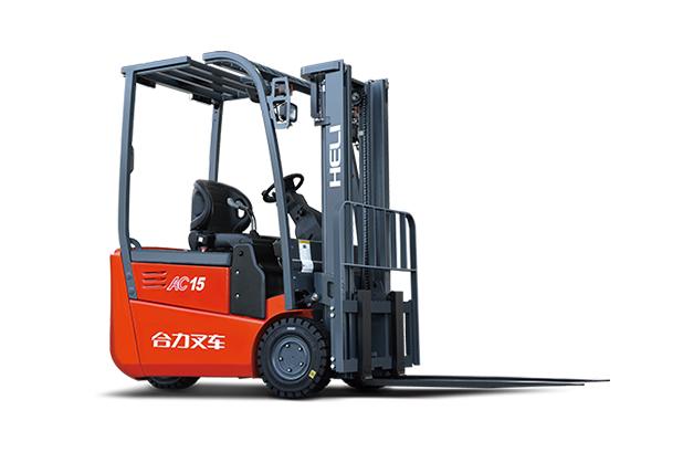 四川电动叉车-G系列 1.25-1.5吨后驱三支点蓄电池平衡重式叉车