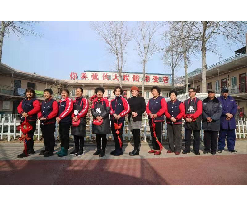 新乡五福养老院贴心护理团队