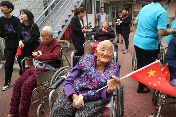 新乡养老院百岁老人