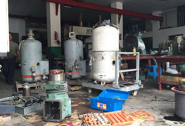 四川維修螺桿壓縮機