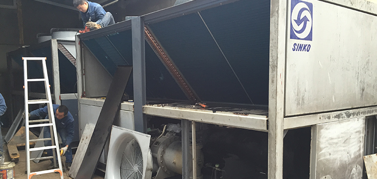 盤點成都中央空調維修常見的故障和處理方法