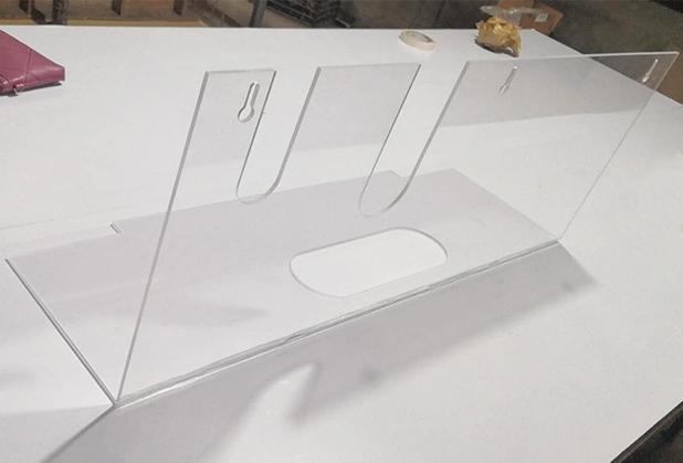 四川亚克力异性机器罩子制作