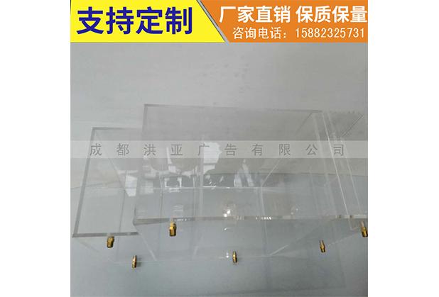 成都透明亚克力机器防护罩
