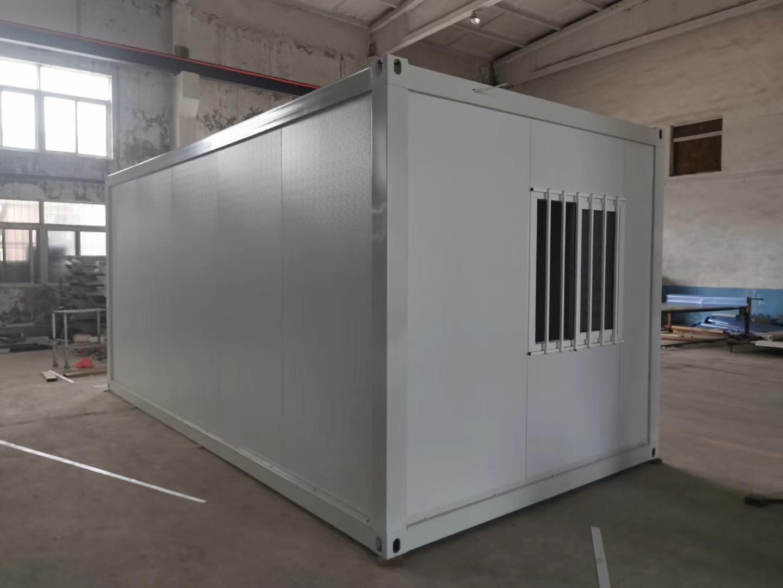 集成打包箱式房屋安装