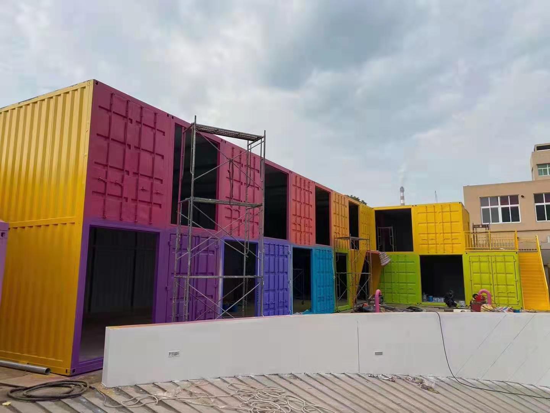 渭南彩色集装箱厂家