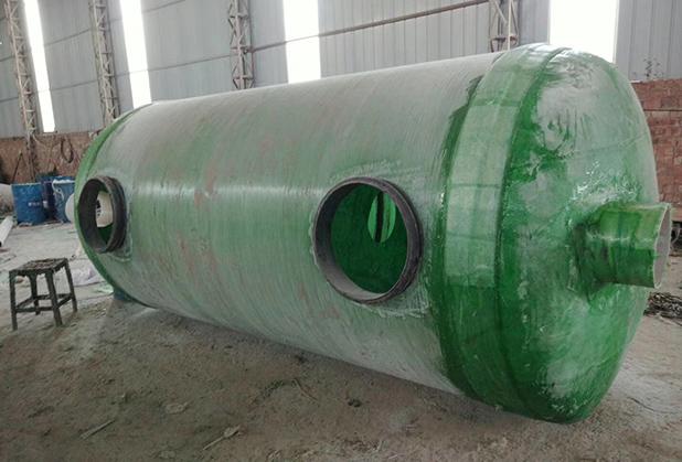 昊聚复合材料公司工程玻璃钢制品安装成功案例