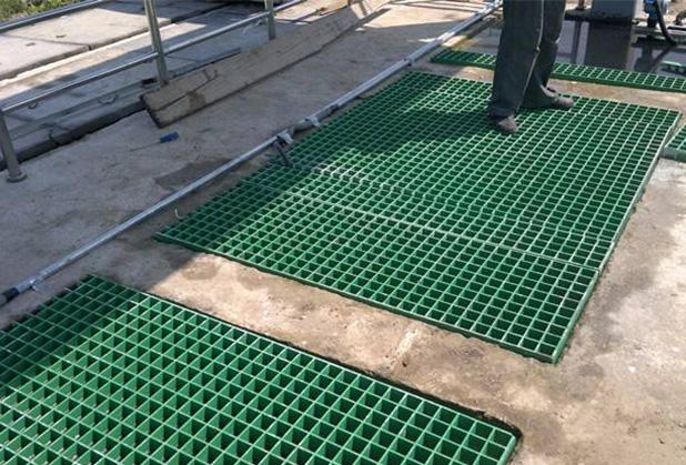 巴中玻璃钢格栅池安装成功案例