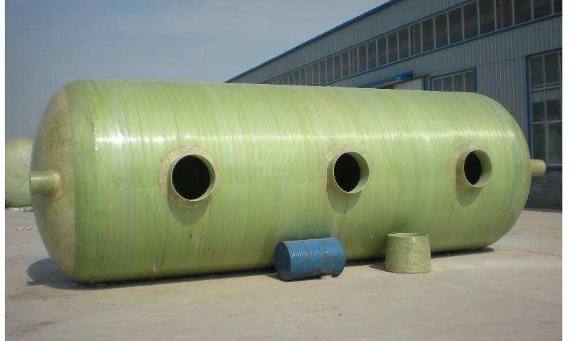 巴中玻璃钢隔油池与化粪池之间的区别