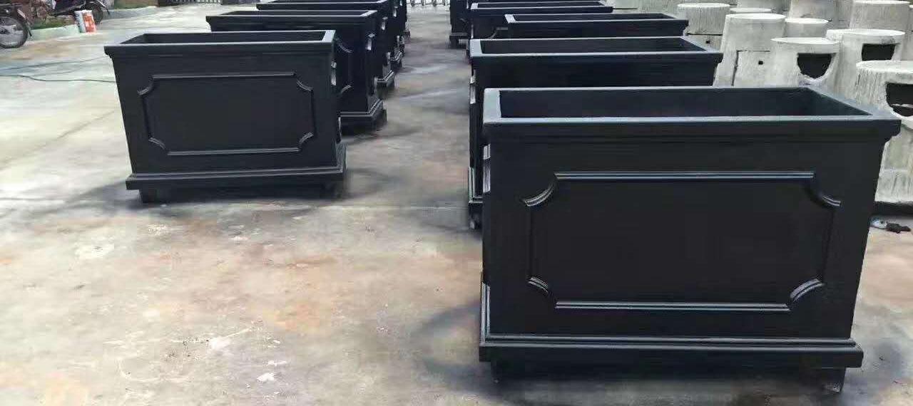 不锈钢花箱案例