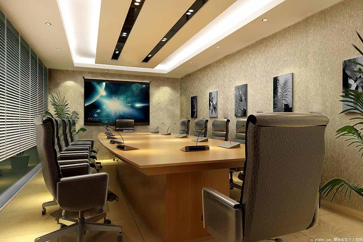 小型多媒体会议室投影机案例