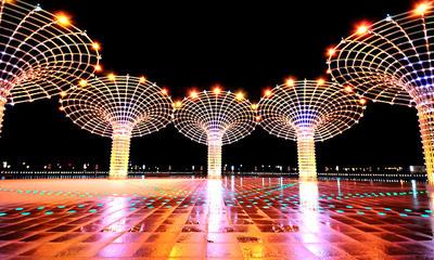 成都亮化工程实现了光与艺术相融合,让这座城市更美丽