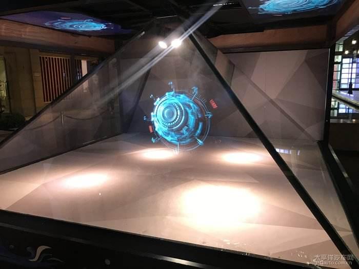 成都全息投影的新宠----3D全息投影