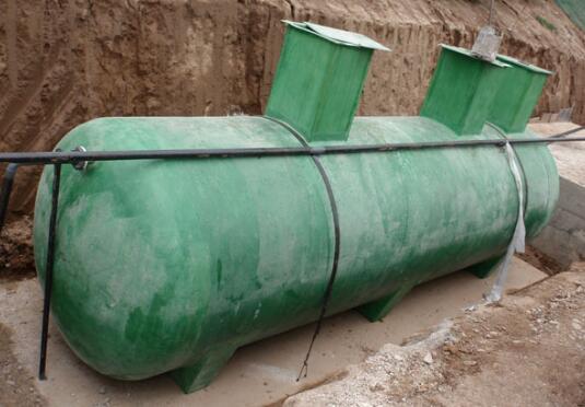 吉盛环保支招如何检查汉中玻璃钢化粪池质量
