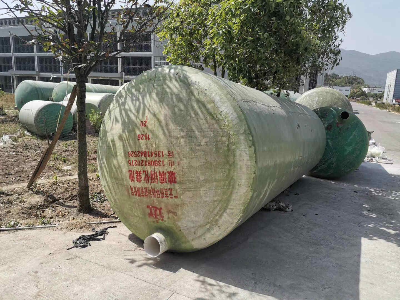 汉中玻璃钢化粪池正确的使用方式