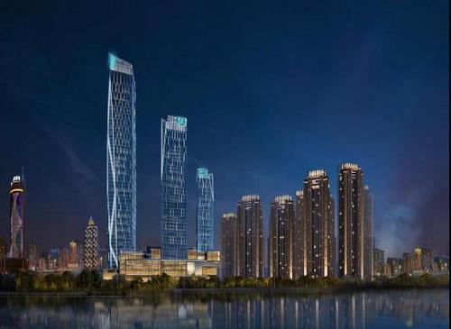 哈尔滨富力广场2020年9月开业,购物中心设计冰城冬季亚虎pt花园
