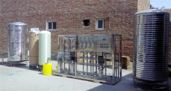 一吨反渗透水处理设备为什么需要添加阻垢剂?豫洁环保告诉你