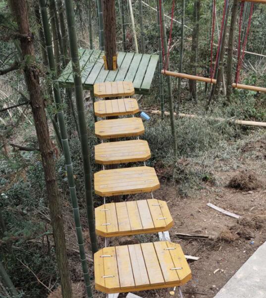 丛林穿越项目适合多大的小朋友玩耍?河南丛林穿越公司告诉你