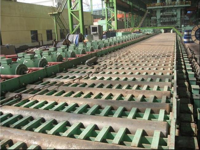 重钢环保搬迁4100mm轧线灌浆