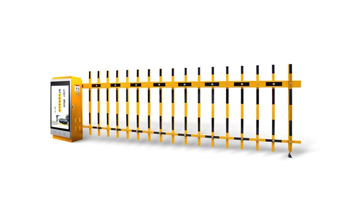 廣安安快柵欄道閘安裝案例