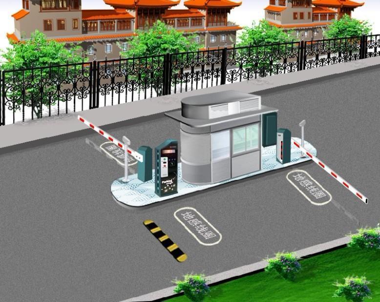 教你如何正確的埋設停車場系統地感線圈?
