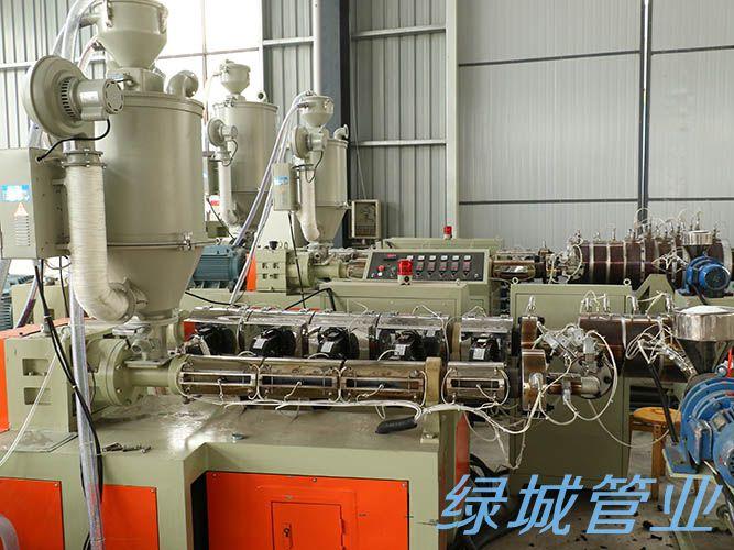 四川绿城管业有限公司生产设备展示