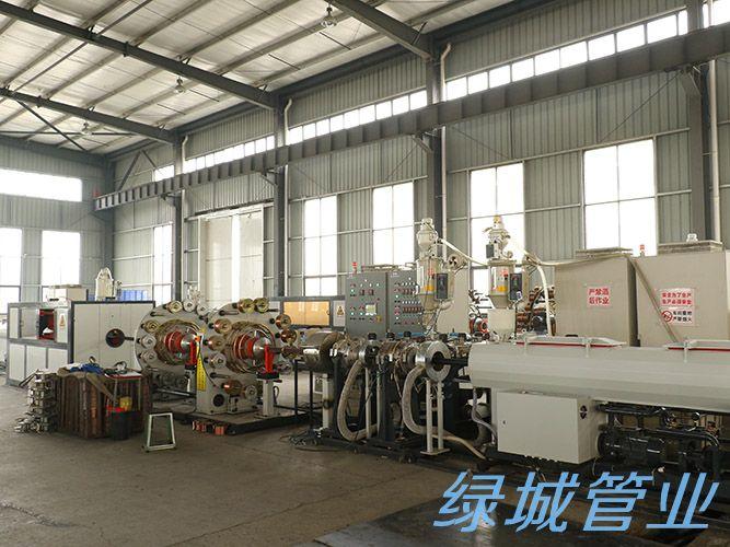 德阳PE管生产设备展示