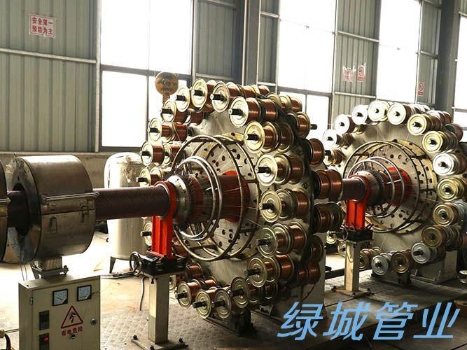 四川管材生产公司生产设备展示