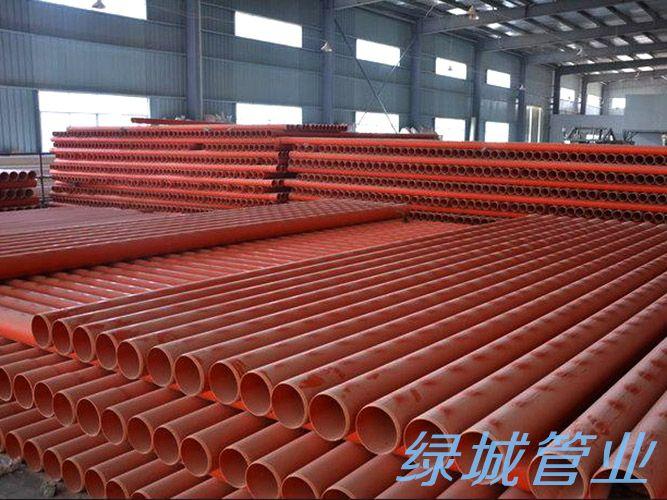 四川CVPC埋地式电缆保护管案例