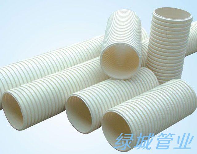 成都PVC-U双壁波纹管