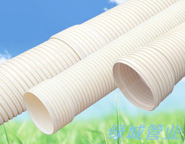 德陽PVC-U雙壁波紋管
