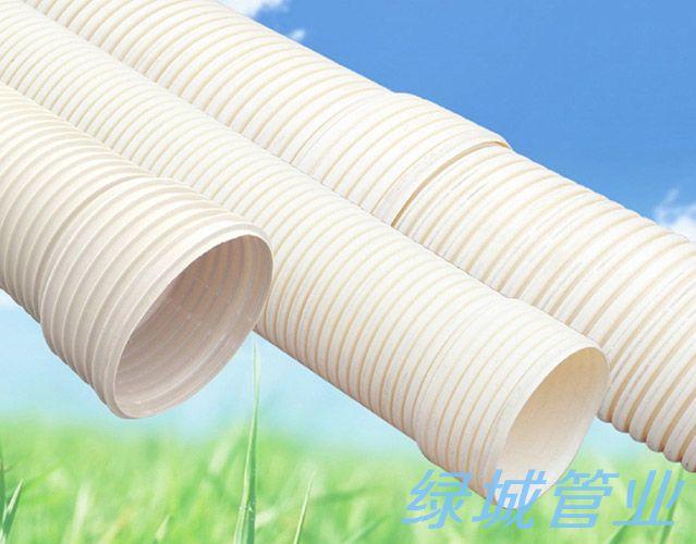 德阳PVC-U双壁波纹管