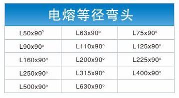 四川电熔管件