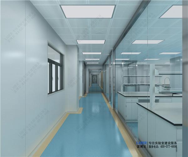 实验室隔断工程案例