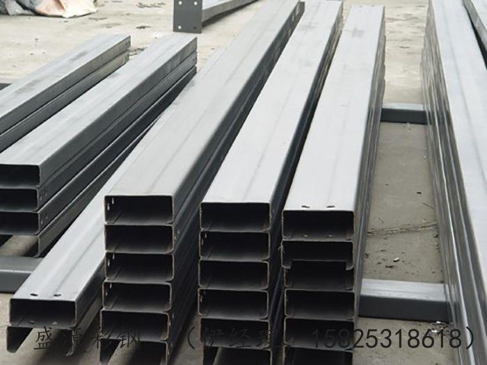 不等边C型钢  银川C型钢加工生产厂家