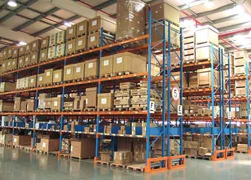 成都重型货架与贯通货架的区别介绍