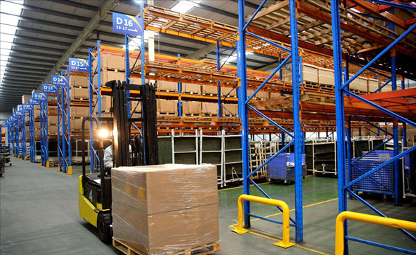 成都木质货架安装