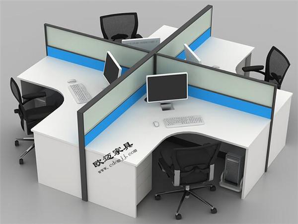 四川职员工位组合屏风