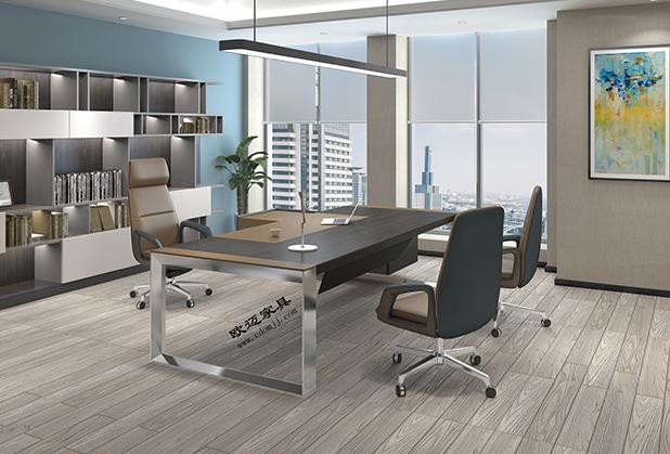 成都老板桌椅-现代皮椅1M9H(精品)