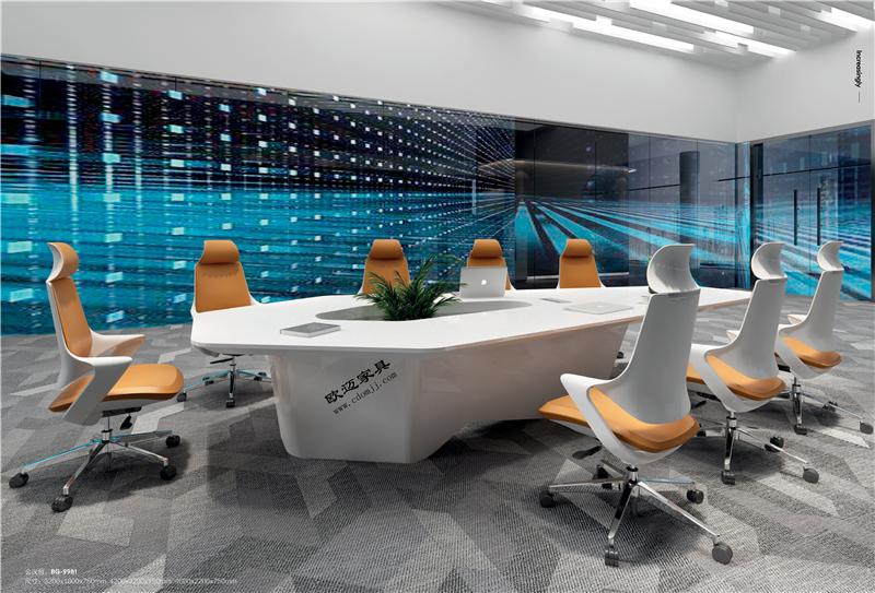 四川烤漆办公会议桌