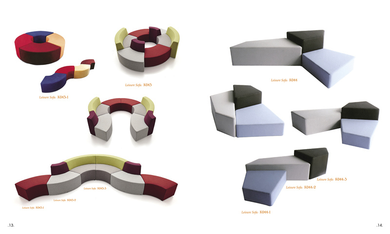 休闲布艺定制现代沙发